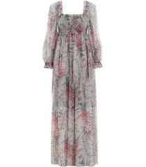 bayou shirred lange jurk