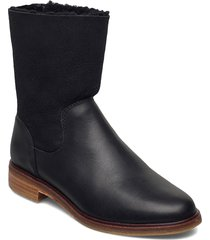 clarkdaleaxhot shoes boots ankle boots ankle boot - flat svart clarks