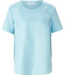 shirt 100% linnen van peter hahn turquoise