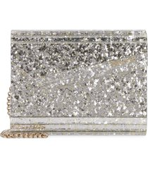 jimmy choo candy glitter box clutch