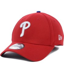 new era philadelphia phillies mlb team classic 39thirty stretch-fitted cap