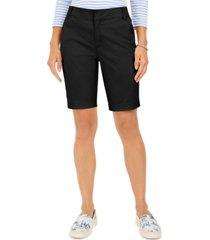 charter club bermuda twill shorts, created for macy's