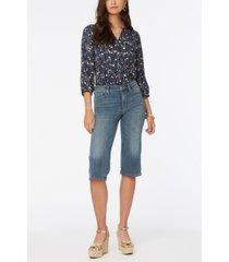 nydj petite wide leg pedal pusher jeans