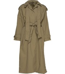tessa trench coat rock grön whyred