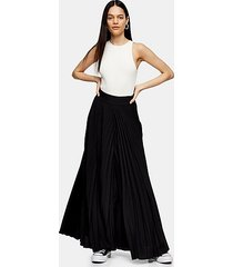 *black pleated trousers by topshop boutique - black