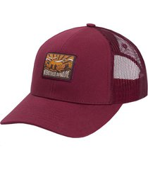 gorro trucker canvas nbdin bordeaux gnomo