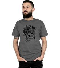 camiseta ventura skull captain chumbo - kanui