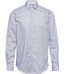 dobby design classic shirt skjorta business blå tommy hilfiger tailored