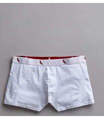 cueca boxer reserva branco - branco - masculino - dafiti