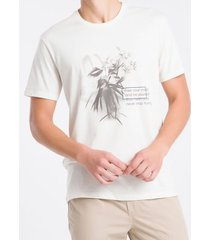 camiseta masculina free your mind nude calvin klein jeans - pp