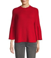 ingrit cotton-blend sweater