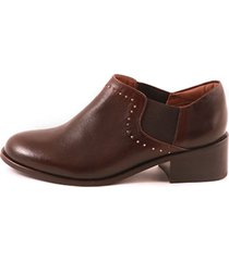 zapato embotado cowboy marron