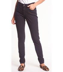 czarne spodnie jeansowe pamela - rj rock jeans