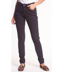 czarne spodnie jeansowe pamela