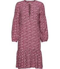 aria dress knälång klänning rosa odd molly