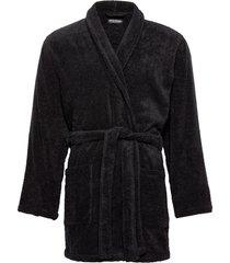 men's woven bathrobe morgonrock badrock svart emporio armani