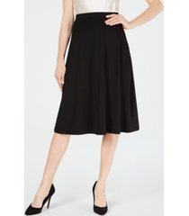 kasper a-line midi skirt