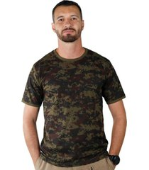 camiseta treme terra soldier argila verde - kanui