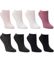cuddl duds 8-pk. low-cut textured socks