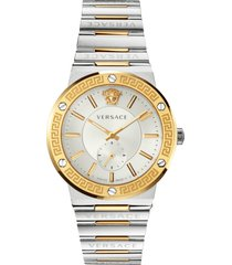 versace greca logo bracelet watch, 41mm