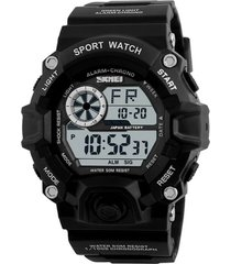 reloj deportivo skmei militar ref 1019 negro