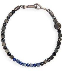 men's caputo & co. stone bead bracelet