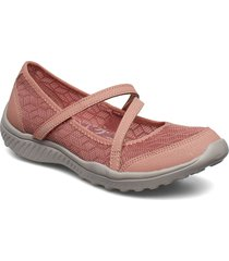 womens be-light - eyes on me ballerinaskor ballerinas rosa skechers