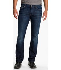 men's 7 for all mankind slimmy slim fit jeans, size 38 - blue