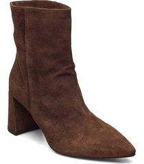 booties 5143 shoes boots ankle boots ankle boot - heel brun billi bi