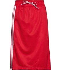 skirt knälång kjol röd champion rochester