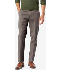 dockers men's workday smart 360 flex slim fit khaki stretch pants