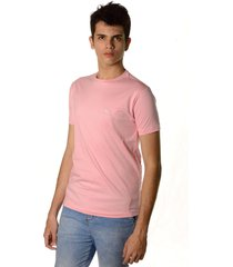 camiseta clássica neesie logo rosa bebê