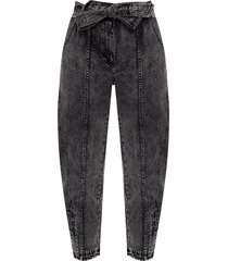 'carmen' jeans with worn effects