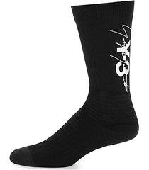logo tube socks