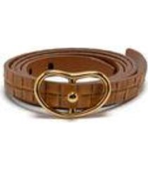 skinny georgia belt in tan wicker