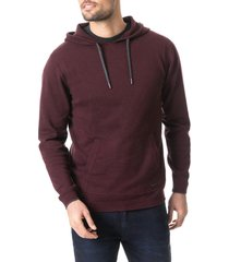 men's rodd & gunn kingsley park regular fit hoodie, size small - burgundy