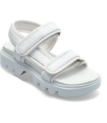piave 2a shoes summer shoes flat sandals svart marc o'polo