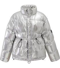 194185-080 | silver down jacket | silver - l