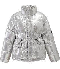 194185-080 | silver down jacket | silver - m
