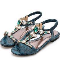 sandalias de mujer bohemia sandals for women flat retro jelly sandals