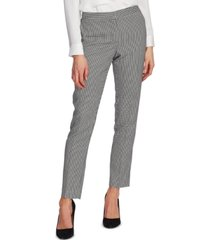 vince camuto petite houndstooth ankle pants