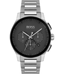 men's boss peak chronograph bracelet watch, 44mm