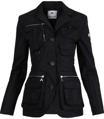 first-aid survival tailored jacket, black