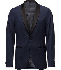 george shawl stretch suit blazer kavaj blå matinique