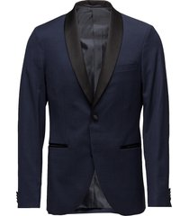 george shawl stretch suit blazer kavaj blå matinique