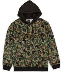 le tigre men's blind camo hoodie