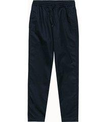 a.p.c. pantalone in tessuto blu