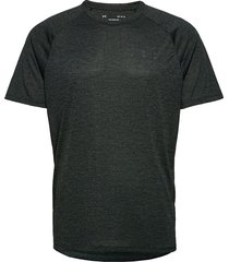 ua tech 2.0 ss tee t-shirts short-sleeved svart under armour