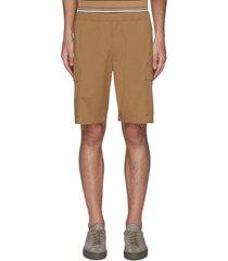 'wilmar' drawstring waist cargo poplin shorts