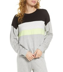 women's socialite brushed pullover